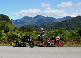 Riding in the Cameron Highlands