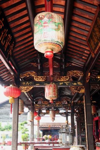 Temple decorations, Cheng Hoon Teng, Malacca