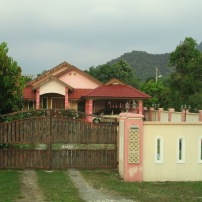 Colourful house in Ipoh