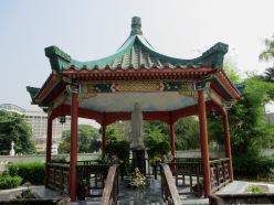 Pagoda at St Michael's church, Ipoh