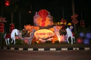 Sunway's CNY lights for the year of the horse