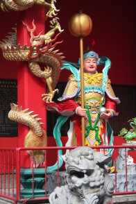 Temple decorations, Kuala Lumpur