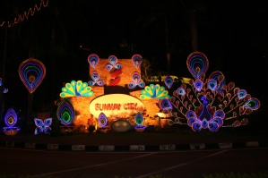 Sunway's Deepavali lights