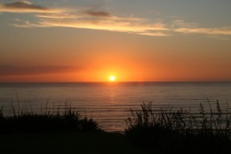 Sunset at Kariotahi