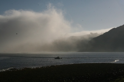 Early morning Manu Bay