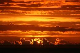 Sunset over the Tasman Sea
