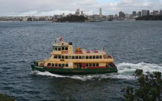 Distinctive ferry
