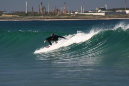 Surfer at Cronulla beach