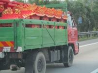Transporting shrines