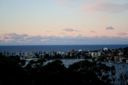 Sunset at Manly