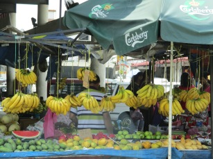 Roadside fruit stall