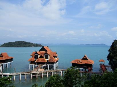 Chalets at the Berjaya resort