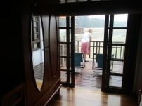 Deck off the room
