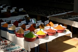 Spices stall
