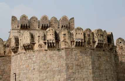 Another view of the Golconda Fort
