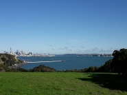 On a clear Auckland day