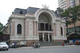 Opera building. Saigon