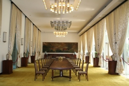 Reception room in Reunification Palace