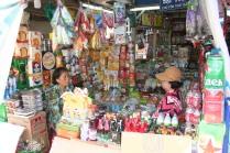 Street market stall, Saigon