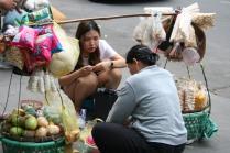 Street vendor, Saigon